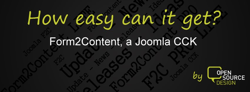 Easy Peasy Web Site Content with Form2Content