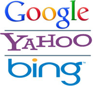 Google Yahoo Bing Native Search Engine Rankings